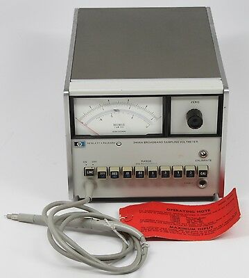 Hewlett Packard HP model 3406A Broadband Sampling Voltmeter