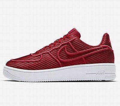 on sale 8d679 0509a Nike Air Force 1 Ultraforce Lv8 Trainers - Gym Red/white - 864015 600 -