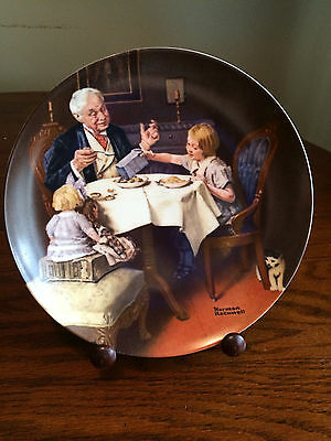 Norman Rockwell Collector Plate The Gourmet Heritage Collection