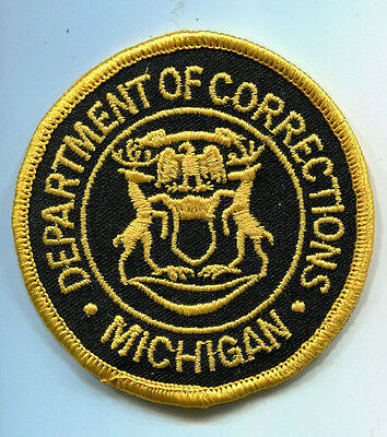 Michigan Department of Corrections Patch