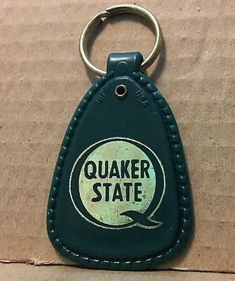 Quaker State Oil Federal Way Washington Keychain