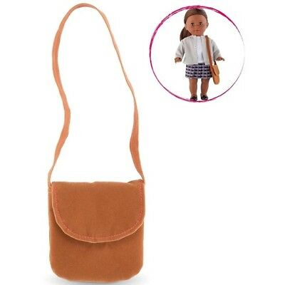 Corolle Doll Accessories Brown Messenger Bag