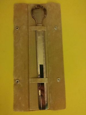 """Ricci Argentieri  8"""" ruler made in italy"""