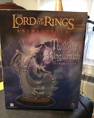 Twilight Ringwraith Lord of the Rings Animaquette Collectible Gentle Giant NEW!