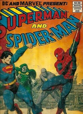 SUPERMAN And SPIDER-MAN. Vol. 1, #28, 1981