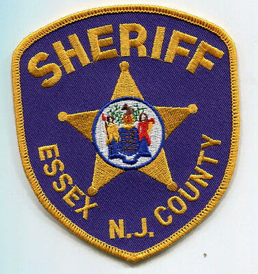 Essex County New Jersey Sheriff Patch