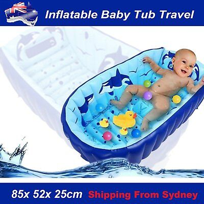 Inflatable Baby Tub Travel Bath Kids Bathtub Shower Child Newborn Swimming Pool