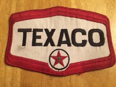 Vintage LARGE Texaco patch
