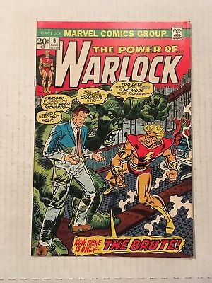 WARLOCK #6 June 1973 Vintage Marvel Comics UNREAD The Brute