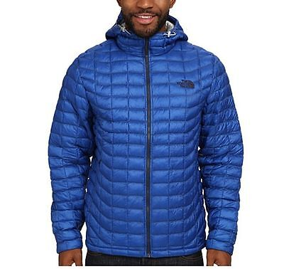 NEW The North Face Men's Thermoball Hoodie Jacket Blue XL
