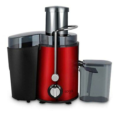 Brand New Stainless Steel Fruit Juicer Juice Extractor 1000W