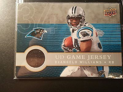 2da501b7f 2008 DEANGELO WILLIAMS Game Issued Carolina Panthers NFL Jersey ...