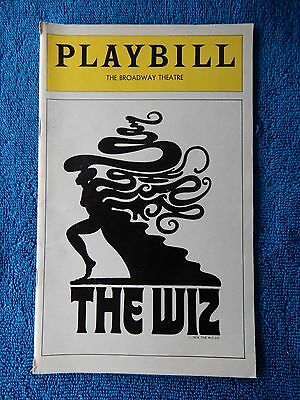 The Wiz - Broadway Theatre Playbill - March 1978 - Stephanie Mills - Haynes