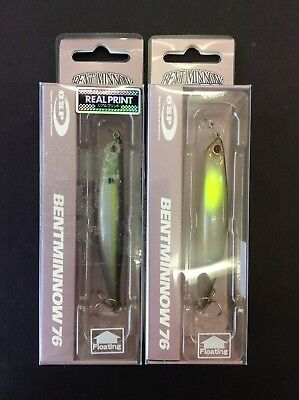 OSP Bent Minnow 76 Twin Pack + FREE SHIPPING