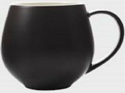 Maxwell & Williams Tint Snug Mugs 450ml, Black Set of 6 RRP $47.70
