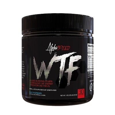 AlphaBreed WTF Pre-Workout