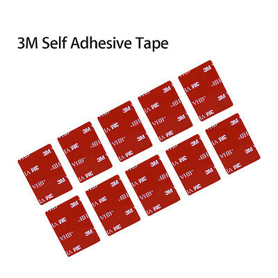 10x 3M VHB Self Adhesive Sticker Pads Flat For Viofo A119S A119 V2 Car Dashcam