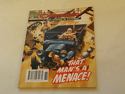 Commando War Comic Number 2611!!,1992 Issue,v Good For Age,25 Years Old,v Rare.