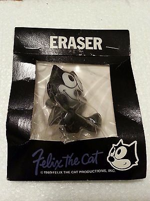 RARE Felix the Cat Eraser - Determined Productions 1989 - Made in Japan