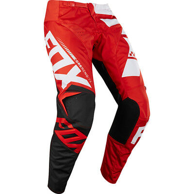 Fox Racing NEW Mx 2018 180 Sayak Red White Black Motocross Dirt Bike Pants