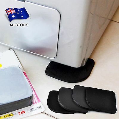 AU STOCK 4pcs Refrigerator Anti-vibration Pad Mat Washing Machine Anti-Shock Pad