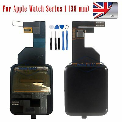 For Apple Watch 38mm iWatch LCD Screen Digitizer Front Glass Display Replacement