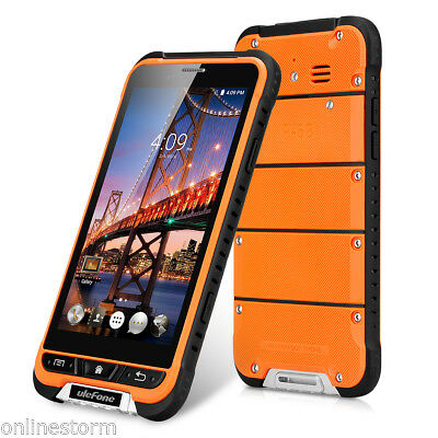 4G IP68 Rugged Cellulare Android6.0 8Core 13MP Smartphone 3GB+32GB Impermeabile