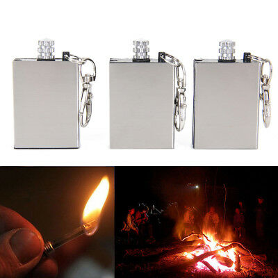 3pcs Outdoor Camping Emergency Survival Flint Match Feuer Starter Leichter Tool
