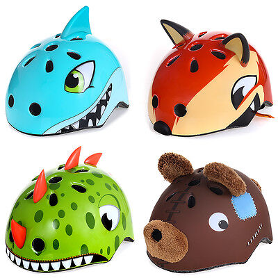 Kids Toddler Bike Riding Bicycle Helmet Cycling Skateboard BMX Protect 50-54cm