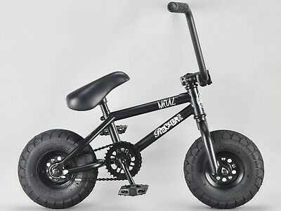 Rocker BMX Mini BMX Bike MINI MAIN with black tyres iROK+ RKR
