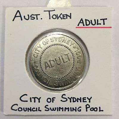 Australian City Sydney council swimming pool Token (3243251C5/12)