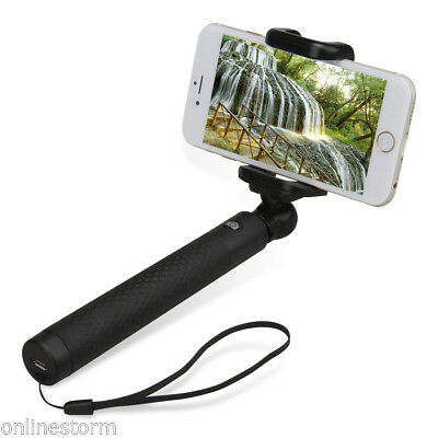 Plegable Bluetooth Monopod Palo Selfie Extensible para Android IOS Smartphone ES