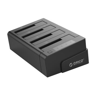 ORICO 6648US3-C 4 Bay USB3.0& Hard Drive Docking Station for 2.5/3.5Inch HDD/SSD