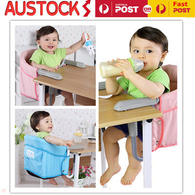 Portable Hook On High Chair Baby Feeding Highchair Safety Travel Booster Seat