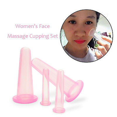 Anti-Cellulite Massage Cups Neck&Facial Medical Silicone Cupping Therapy