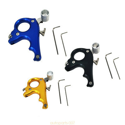 3 Finger Caliper Trigger Bow Release for Compound Bow Hunting Target Shoot as07