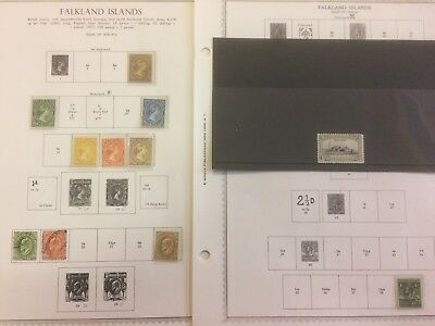 FALKLAND ISLANDS QV-1978 Useful collection on Scott printed - 97439