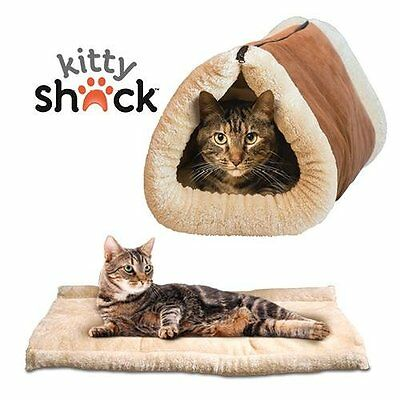 Matelas Tunnel 2 en 1 pour chat - Kitty Shack