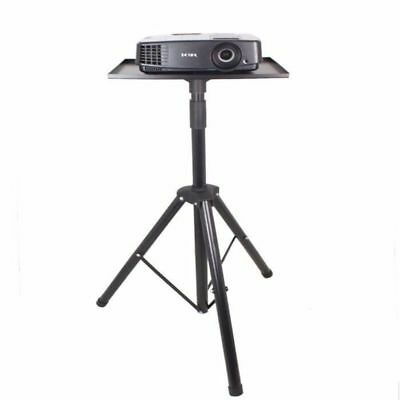 Universal Folding Projector Stand Tripod With Frosted Plastic Tray