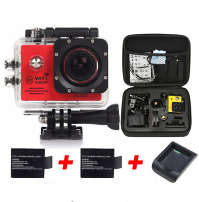 """Gopro Hero 5 Style Camera Action WIFI 12MP Full HD 1080P 30FPS 2.0""""LCD Diving 30"""