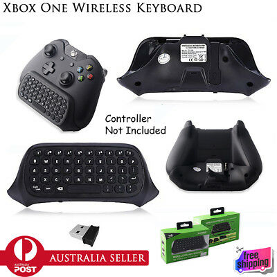 New 2.4G Wireless Mini Keyboard For Xbox One S Slim Controller Chatpad Message