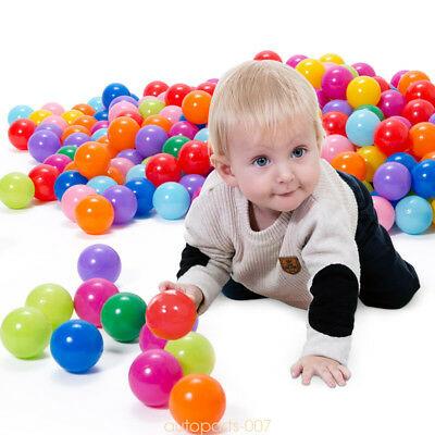 20 Plastic Tent Play Ball Soft Bounce Ocean Swim Ball For Baby Kid Fun Toy as07