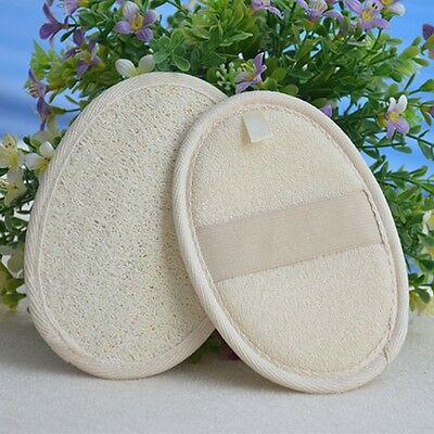 Soft Fresh Natural Loofah Luffa Sponge Shower Spa Body Scrubber