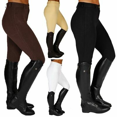 Womens Pony Horse Riding Showing Competition Stable Yard Jodhpur Breeches 26-48