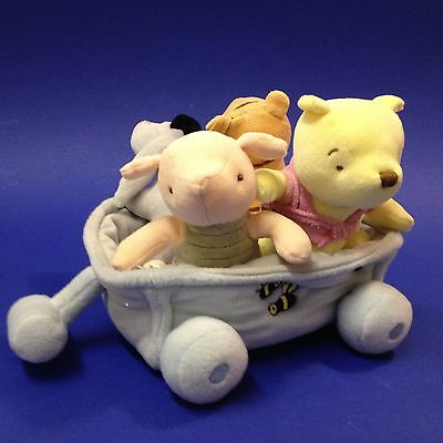 Winnie the Pooh & Friends with Cart - Soft Toys / Rattles
