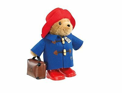 Paddington Bear Boots Suitcase Classic Hat Cuddly Soft Toy Large 36cm