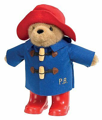 Paddington Bear Classic Boots Hat Cuddly Soft Toy Traditional Official 22cm