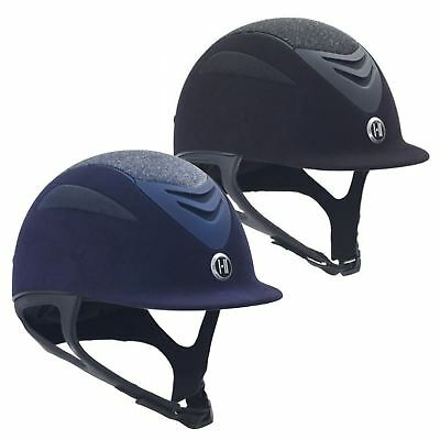 One K Defender Glitter PAS015 Riding Jumping Competition Helmet Removable Liner