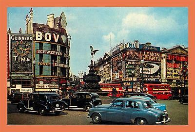 a651 / 127  London Piccadilly Circus ( Voiture )