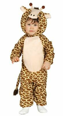 Toddlers Baby Giraffe Animal Zoo Fancy Dress Costume Outfit Boys Girls